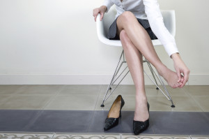 foot pain from high heels