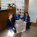 triad foot center canned food drive
