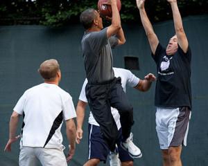president obama has heel pain