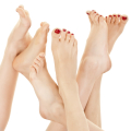 women and foot related injuries