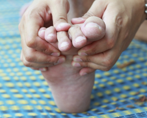 at home diabetic foot exam
