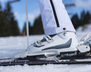 skier's toe