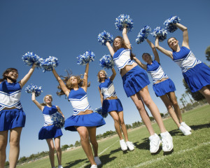 cheerleaders and foot problems