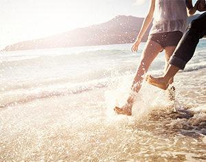 beach foot dangers