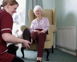 senior foot care