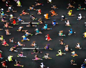 Marathon Runner Foot Care