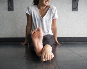 plantar flexion